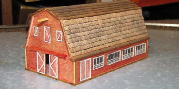 A barn for the layout